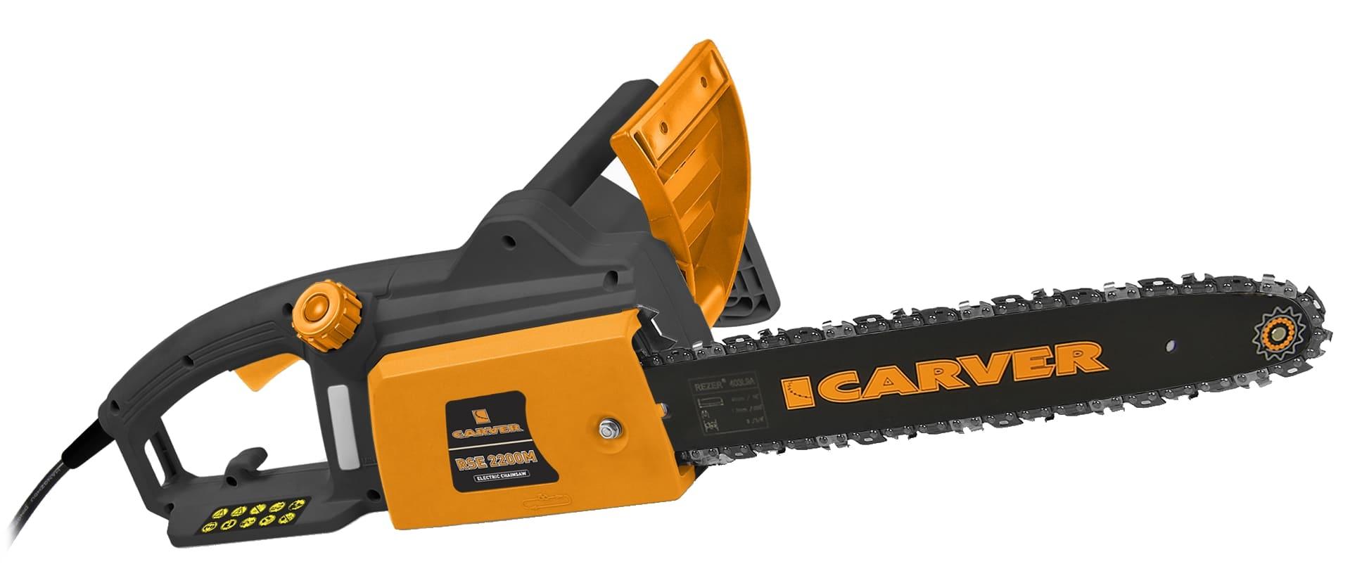 Электрическая цепная пила Carver RSE 2200M