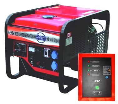 Бензиновый генератор Magnus БГ11000ЕА + блок АВР
